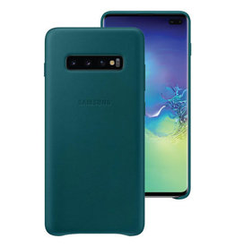 Samsung Samsung Galaxy S10e OEM Green Leather Cover