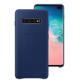 Samsung Samsung Galaxy S10e OEM Navy Leather Cover