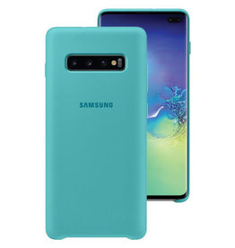 Samsung Samsung Galaxy S10+ OEM Green Silicone Cover
