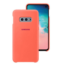 Samsung Samsung Galaxy S10+ OEM Pink (Berry Pink) Silicone Cover 15-04167