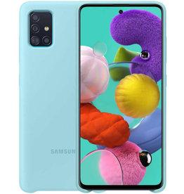 Samsung Samsung | Galaxy A51 Blue OEM Silicone Cover Case 15-07132
