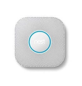 Google | Nest Protect white smart home 2nd generation smoke alarm (Wired)