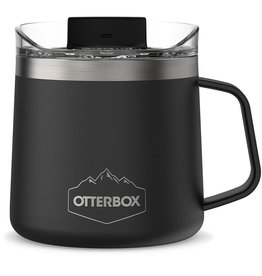 Otterbox Otterbox | Elevation 14 Tumbler Mug with Closed Lid Silver Panther (Black) 102-0083