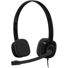 Logitech Logitech | Stereo Headset H151 (Black) 981-000587
