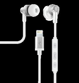 Logiix LOGiiX TUNEFREQS JOLT In Ear Headphones - Silver LGX-13099