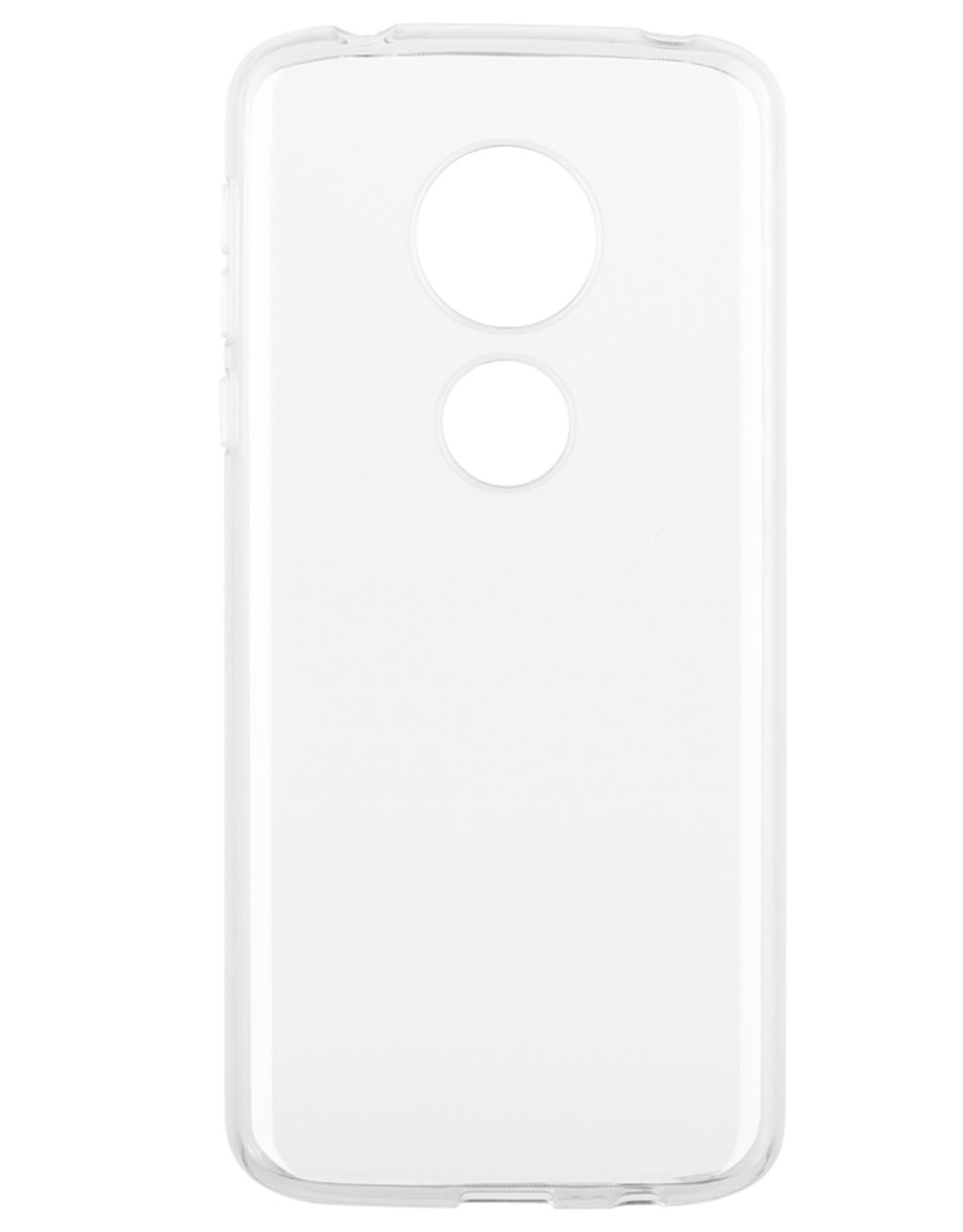 Blu Element Blu Element - Gel Skin Case Clear for Moto G7 Play 120-1745