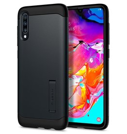 Spigen Spigen Slim Armor Case for SS Galaxy A70 - Metal Slate SGP620CS26385