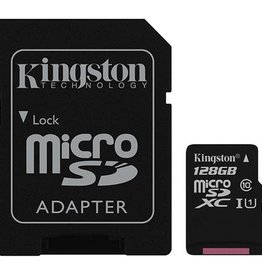 Kingston Kingston - 128GB microSDXC Canvas Select Plus Class 10 Flash Memory Card SDCS2 150-1509