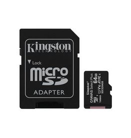 Kingston Kingston - 64GB microSDXC Canvas Select Plus Class 10 Flash Memory Card SDCS2 150-1508
