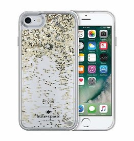 KSNY (Kate Spade New York) /// Kate Spade New York | iPhone 8/7/6/6s Liquid Glitter Case | KSIPH-052-SPSG