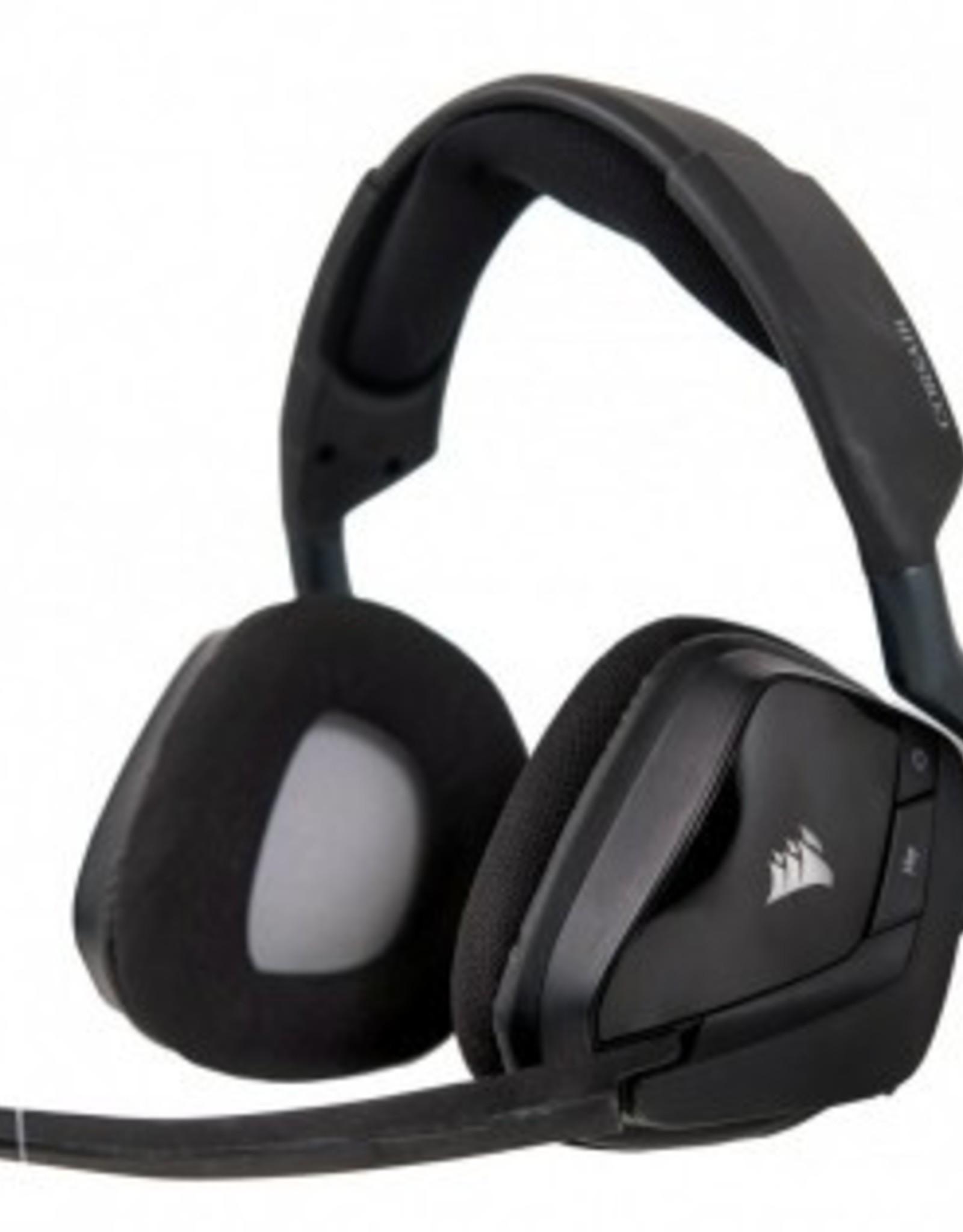Corsair Corsair Gaming VOID PRO RGB Wireless Premium Gaming Headset with Dolby Headphone 7.1 Black CA-9011152-NA