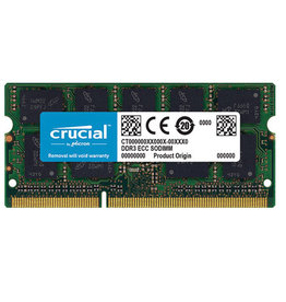 Crucial Crucial 4GB DDR3L-1333 SODIMM Memory for Mac CT4G3S1339M