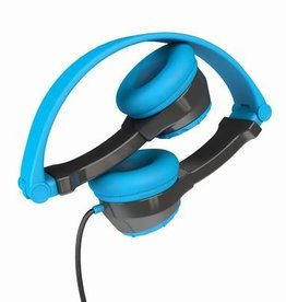 JLab Audio - JBuddies Folding Headphones Blue/Gray  106-1338