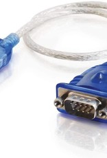 C2G (Cables To Go) Cables to Go 1.5ft USB to DB9 Serial Adapter Cable CTG-26886