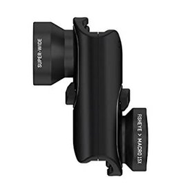 SO Olloclip Core Lens for iPhone 8/7 and 8/7 Plus - Black Lens/Black Clip  OC-0000213-EU