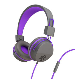 JLab Audio | Neon On-Ear Headphones Purple/Grey 106-1351