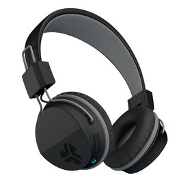 JLab Audio - Neon Bluetooth Wireless On-Ear Headphones Black 105-1484