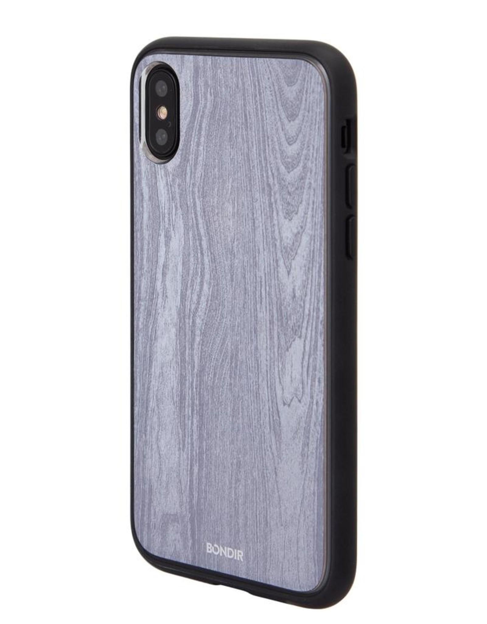 Bondir Wireless Clear Coat Wood Grain iPhone X/Xs Case BD-278-020-BND