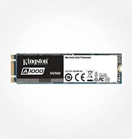 Kingston Kingston | Solid State Drive  240GB A1000 PCIe Gen3x2 NVMe (M.2 2280) Retail SA1000M8/240G