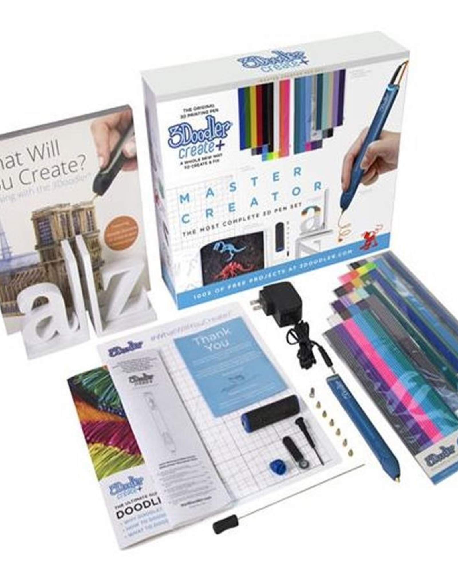 3Doodler Create Plus Master Creator Pen Set Blue 8CPMBEUS3S