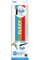 3Doodler Flexy Plastic 25pc - Flag (Wht,Blu,Gld,Red,Wht) FLXMIX2
