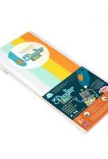 3Doodler Start EcoPlastic 24pc - Fire,Ice (Wht,Aqu,Yel,Org) 3DSECOMIX124