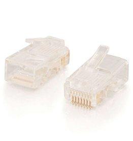 C2G (Cables To Go) C2G RJ45 CAT5 MOD PLUG RND STRANDED CBL 50PK 4214857