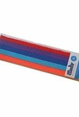 3Doodler ABS Plastic 25pc - Bohemian (Org,Blu,Blu,Purp,Red)