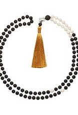 Bellabeat Black (Strength) Mala Smart Bead Necklace For Use With Leaf Urban And Leaf Chakra 15-04958