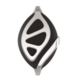 Bellabeat Black/Silver Edition Leaf Urban Health Tracker/Smart Jewelry 15-04948