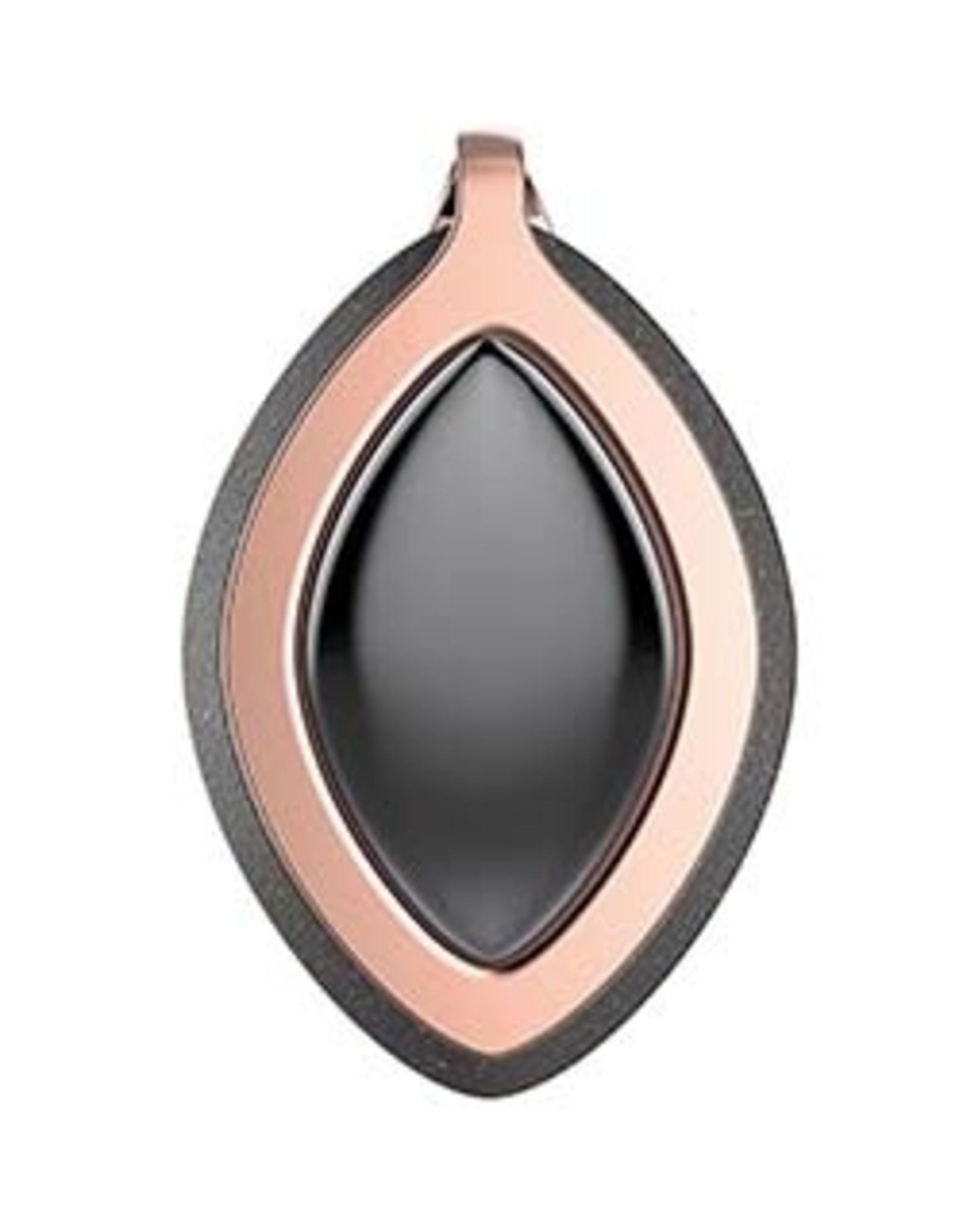 Bellabeat Black/Gold (Power - Onyx) Edition Leaf Chakra Health Tracker/Smart Jewelry 15-04951