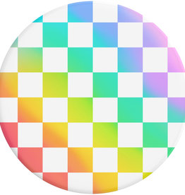 Popsockets Popsockets | PopGrip Rainbow Checker 802602