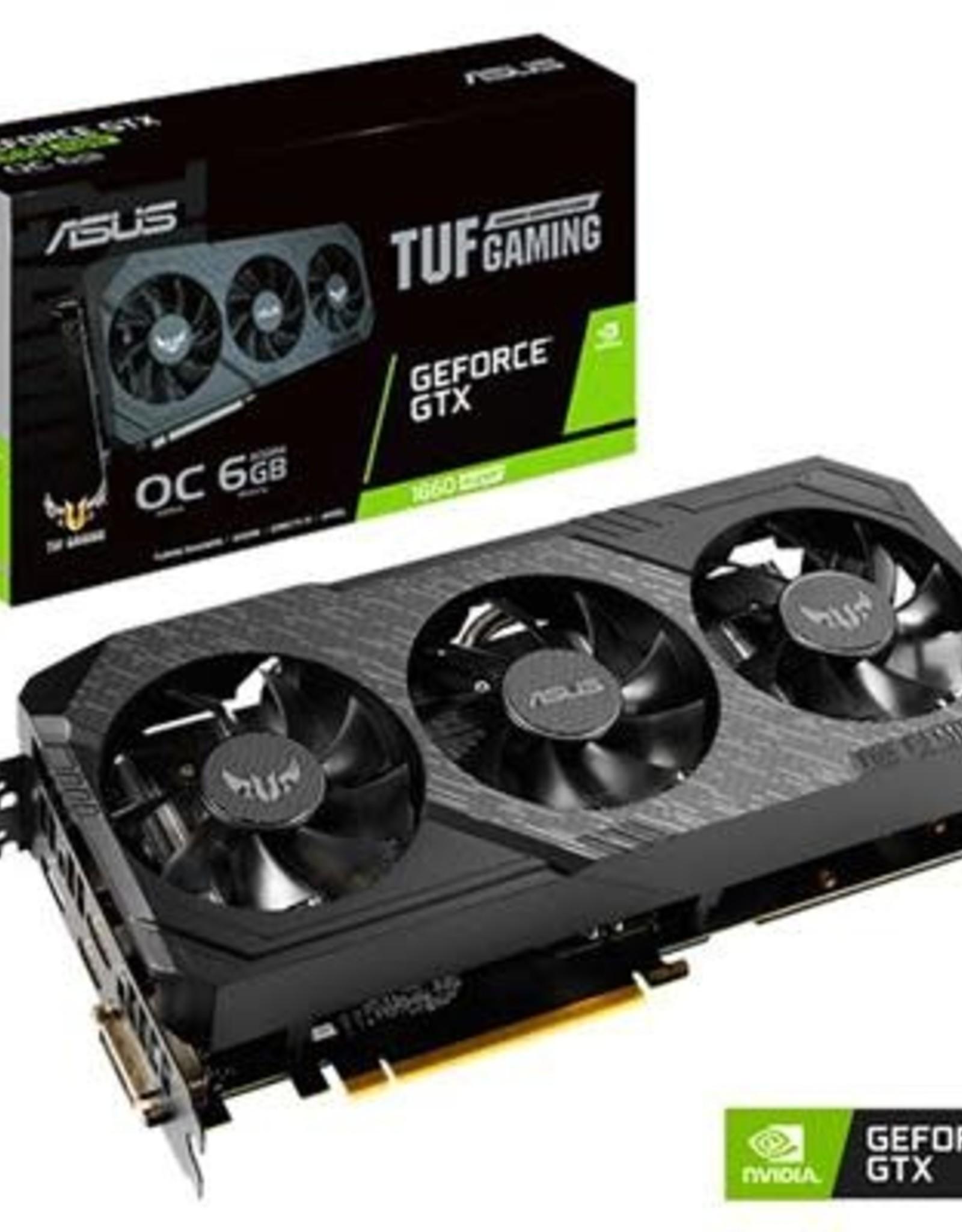 Asus ASUS | VCX TUF 3-GTX1660S-O6G-GAMING GeForce GTX 1660 SUPER GDDR6 6GB 192B HDMI