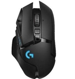 Logitech Logitech | G502 LIGHTSPEED 16000 DPI Wireless Optical Gaming Mouse - Black 910-005565