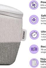 SO HoMedics | Grey UV-Clean Portable Sanitizer Bag | 15-07265