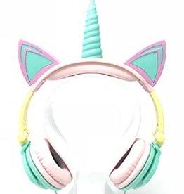 Gabba Goods Over Ear Headphone LED Unicorn Rainbow GG-ULED-RBW
