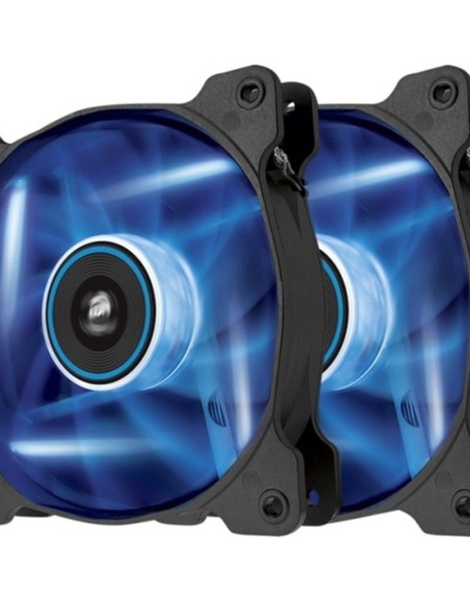 Corsair Corsair Air Series AF120 Twin Pack Blue LED Quiet Edition 120mm High Airflow Fan
