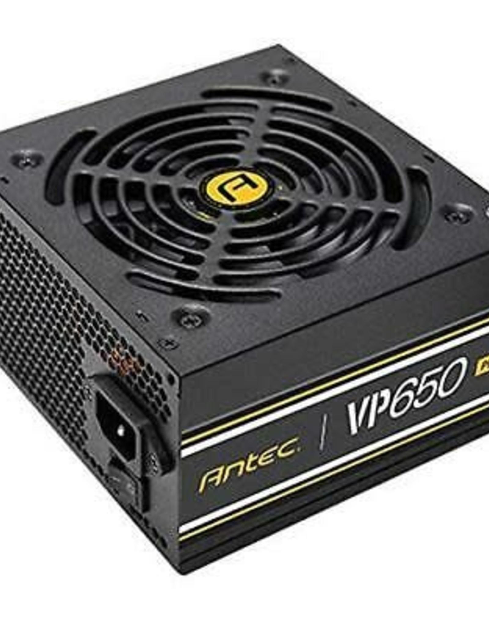 Antec | Power Supply 650W 80+ EPS 12V 120mm Silent Fan PCI-Express SATA Active PFC NonModular VP650 PLUS