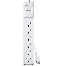Cyberpower Cyberpower | Surge Protector 6 Outlet 2' (2 Pack)