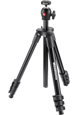 Manfrotto Manfrotto | COMPACT LIGHT TRIPOD KIT BLACK WITH BALL HEAD MKCLGHT-BK