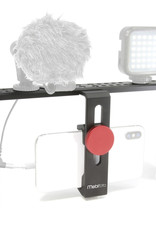 Mobifoto Mobifoto | Smartphone Video Rig with 2 Handles, Light and Microphone MOBIPROKIT