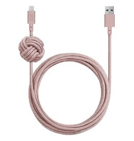 Native Union Native Union | Night Cable Lightning 3M - Rose | NCABLE-L-ROS-NP