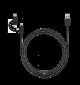 Native Union Native Union   Belt Cable Universal 2M - Cosmos Black   BELT-ULC-CS-BLK-NP