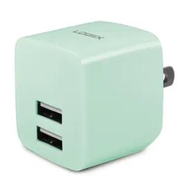 Logiix SO Logiix | USB Power Cube Rapide 2.4A / 12 Watt AC Charger - Mint LGX-12218