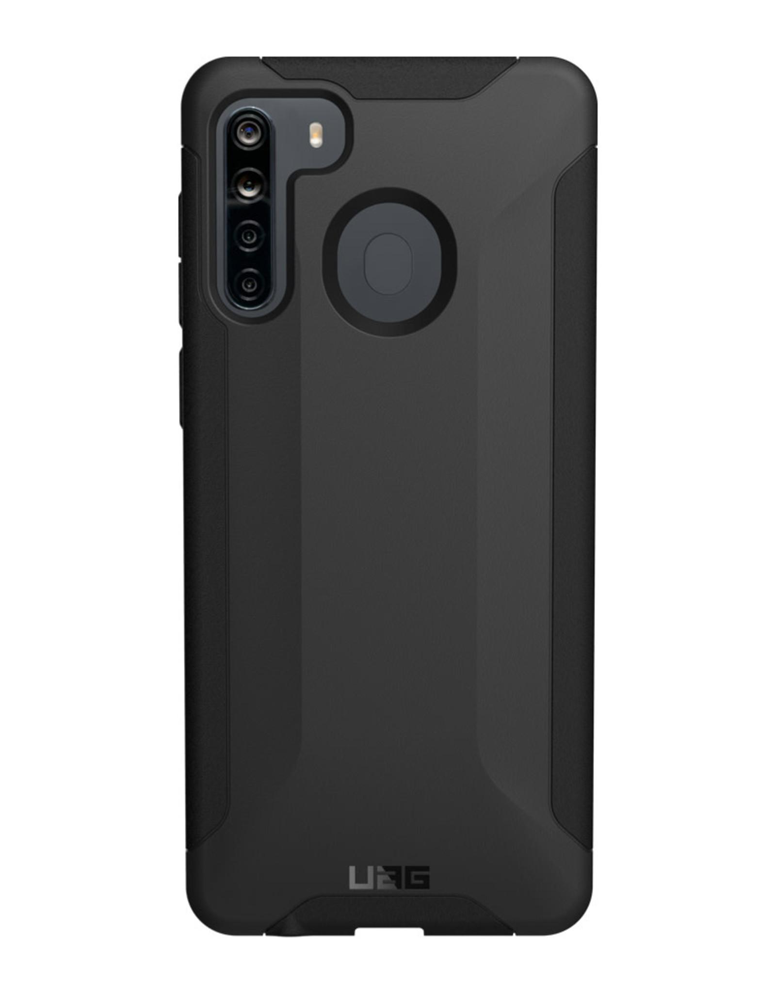 UAG Samsung Galaxy A21 UAG Black Scout Series Case 15-07022
