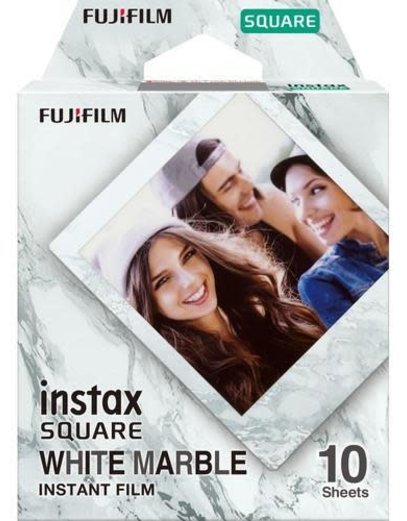 Instax INSTAX SQ FILM WHITE MARBLE - 10EXP 600021637