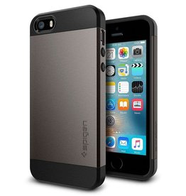 Spigen XXX Spigen | Slim Armor Case for iPhone 5/5s/SE Gun Metal SGP041CS20175