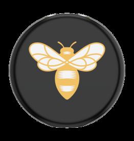 Popsockets PREORDER PopSockets   PopGrip Lips Burt's Bees Bee Logo Black 123-0153