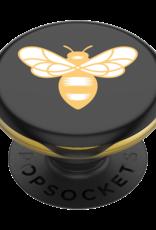 Popsockets PREORDER PopSockets | PopGrip Lips Burt's Bees Bee Logo Black 123-0153
