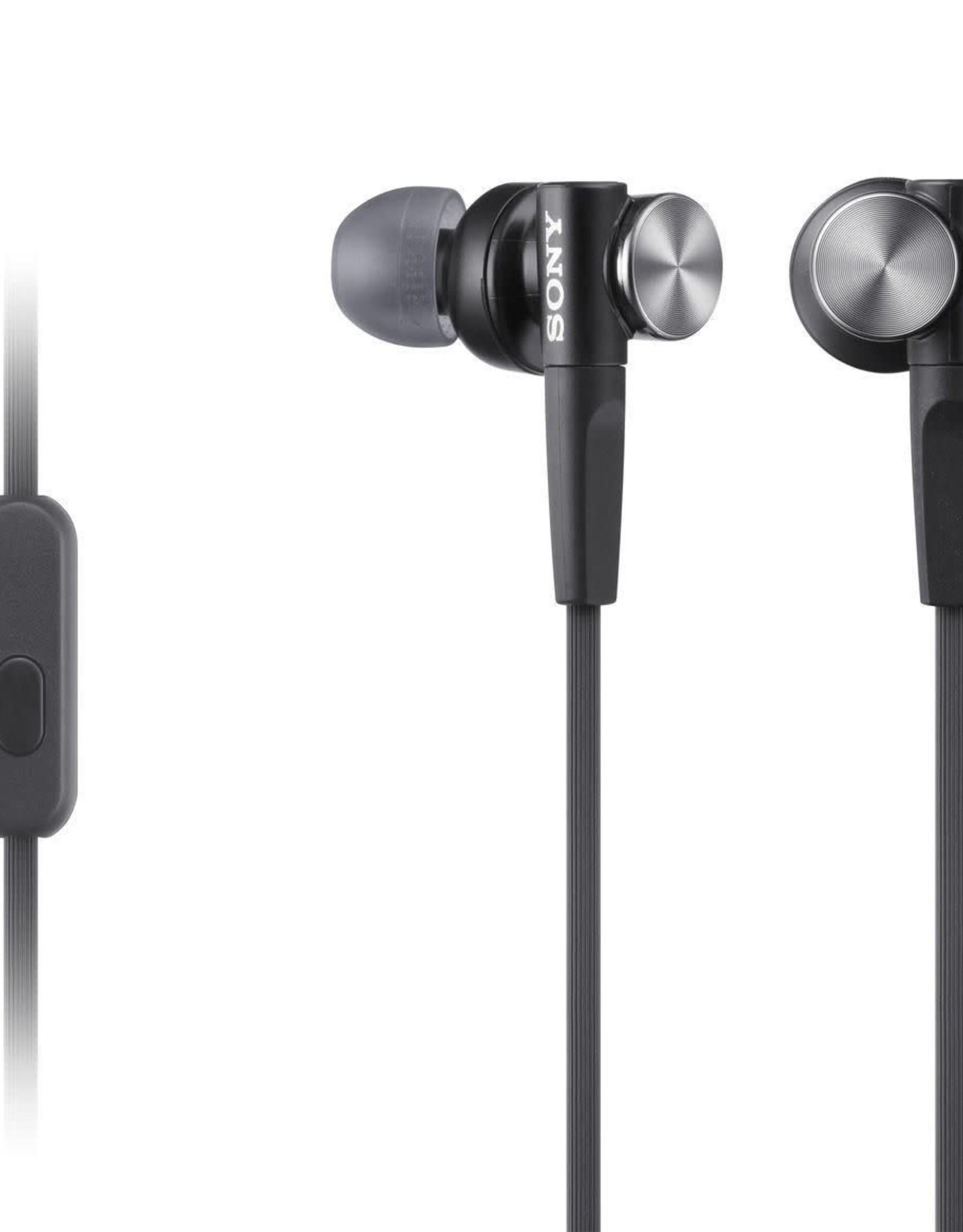 Sony Sony   In-ear Extra Bass Earbud Headphones (Black)   MDR-XB50AP/B